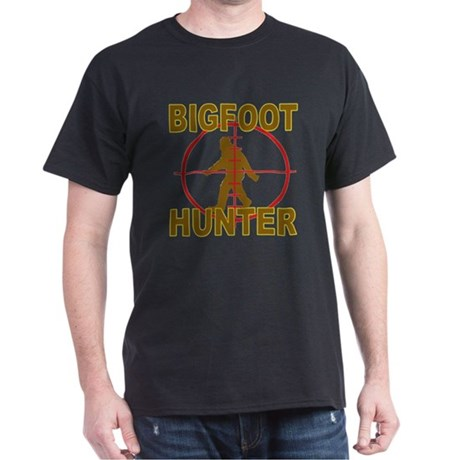 Bigfoot Hunter Black Tshirt