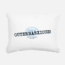 OUTERBANXIOUS Rectangular Canvas Pillow