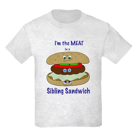 Middle Child - MEAT Kids Light T-Shirt