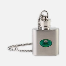 100 PERCENT IRISH DANCER Flask Necklace