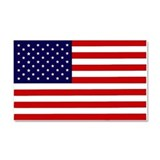 "American flag car magnet 12"" x 20"""