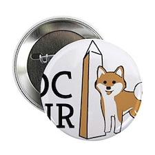 """DCSIR Logo 2.25"""" Button"""