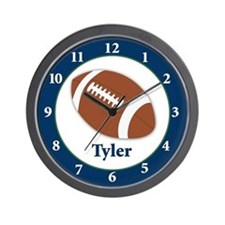 Football Clock - Tyler Wall Clock