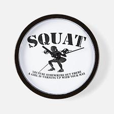 Squat CLOCK