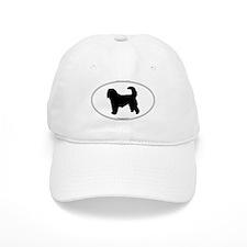 Otterhound Silhouette Baseball Cap