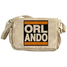 orlando orange Messenger Bag