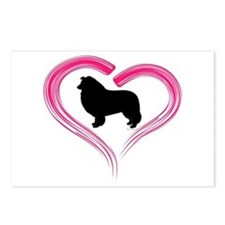Heart My Collie Postcards (Package of 8)