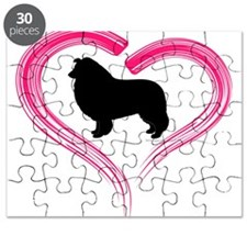 Heart My Collie Puzzle