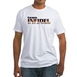 Fitted Team Infidel White T