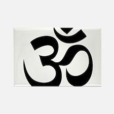 om Rectangle Magnet (100 pack)