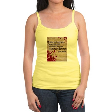 Blood on the Constitution Jr. Spaghetti Tank