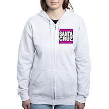 santacruz pink Zip Hoodie