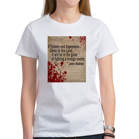 Blood on the Constitution Women's T-Shirt