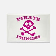 Pirate Princess Rectangle Magnet