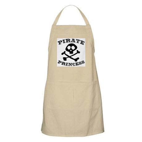 Pirate Princess BBQ Apron