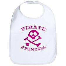 Pirate Princess Bib