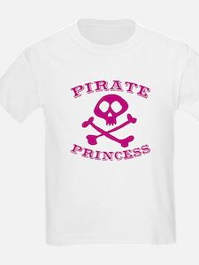 Pirate Princess Kids T-Shirt