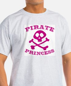 Pirate Princess Ash Grey T-Shirt