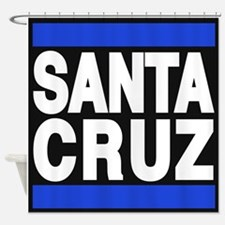 santacruz blue Shower Curtain