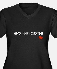 Hes Her Lobster Plus Size T-Shirt