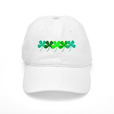 Irish Green 4 Leaf Clovers St. Patricks Day Baseba
