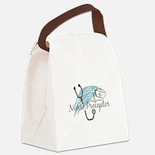 Funny Nursing preceptor Canvas Lunch Bag