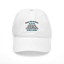 40th Birthday T-shirt Baseball Baseball Cap