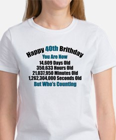 40th Birthday T-shirt T-Shirt