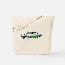 1958 Ford Fairlane 500 White & Light Green Tote Ba
