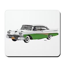 1958 Ford Fairlane 500 White & Light Green Mousepa
