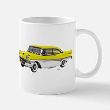 1958 Ford Fairlane 500 Yellow & White Mug