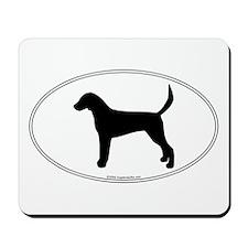 En. Foxhound Silhouette Mousepad