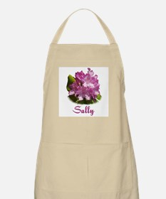 Sally: Purple Flower BBQ Apron