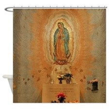 Lady of Guadalupe Shower Curtain