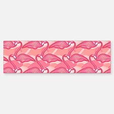 Pink Flamingo Bumper Bumper Sticker