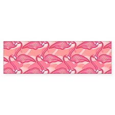 Pink Flamingo Car Sticker