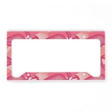 Pink Flamingo License Plate Holder
