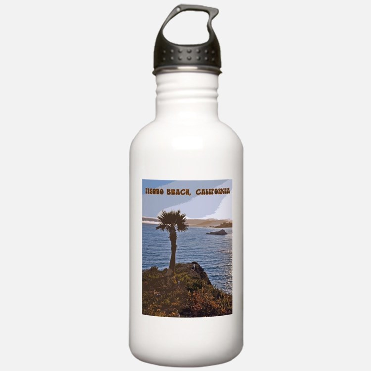 Pismo Beach, California Sunset Water Bottle