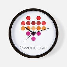I Heart Gwendolyn Wall Clock
