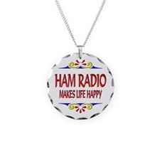 Ham Radio Life Happy Necklace