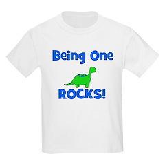 Being One Rocks! Dinosaur Kids T-Shirt