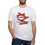 B4P - Lard Bless America Fitted T-Shirt