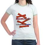 B4P - Lard Bless America Jr. Ringer T-Shirt