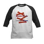B4P - Lard Bless America Kids Baseball Jersey