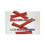 B4P - Lard Bless America Rectangle Magnet