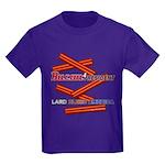 B4P - Lard Bless America Kids Dark T-Shirt