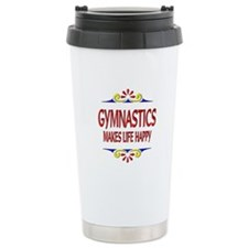 Gymnastics Happy Life Travel Mug