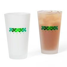 Irish 5 Clovers St. Patricks Day Drinking Glasses