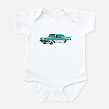 1958 Ford Fairlane 500 Light Blue & White Infant B
