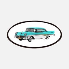 1958 Ford Fairlane 500 Light Blue & White Patches